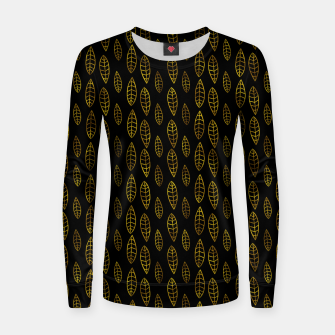 Thumbnail image of Simple Gold Pattern - 03 Women sweater, Live Heroes