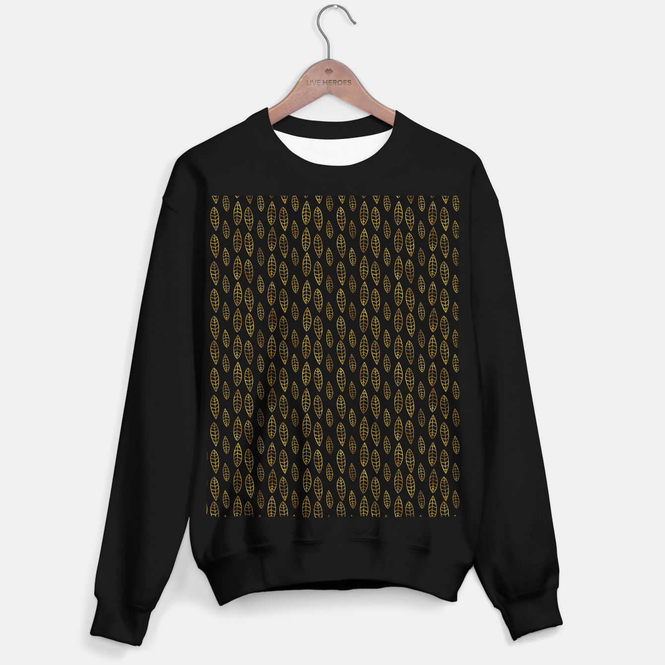 Foto Simple Gold Pattern - 03 Sweater regular - Live Heroes
