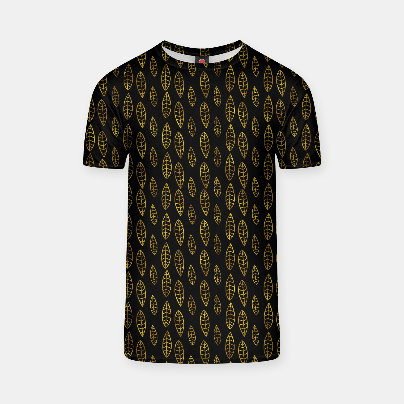 Foto Simple Gold Pattern - 03 T-shirt - Live Heroes