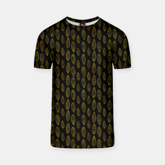 Simple Gold Pattern - 03 T-shirt Bild der Miniatur