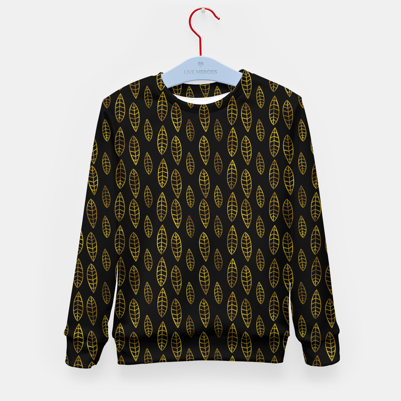 Foto Simple Gold Pattern - 03 Kid's sweater - Live Heroes