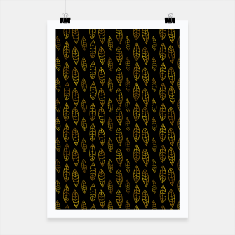 Miniatur Simple Gold Pattern - 03 Poster, Live Heroes