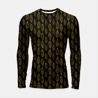 Thumbnail image of Simple Gold Pattern - 03 Longsleeve rashguard , Live Heroes