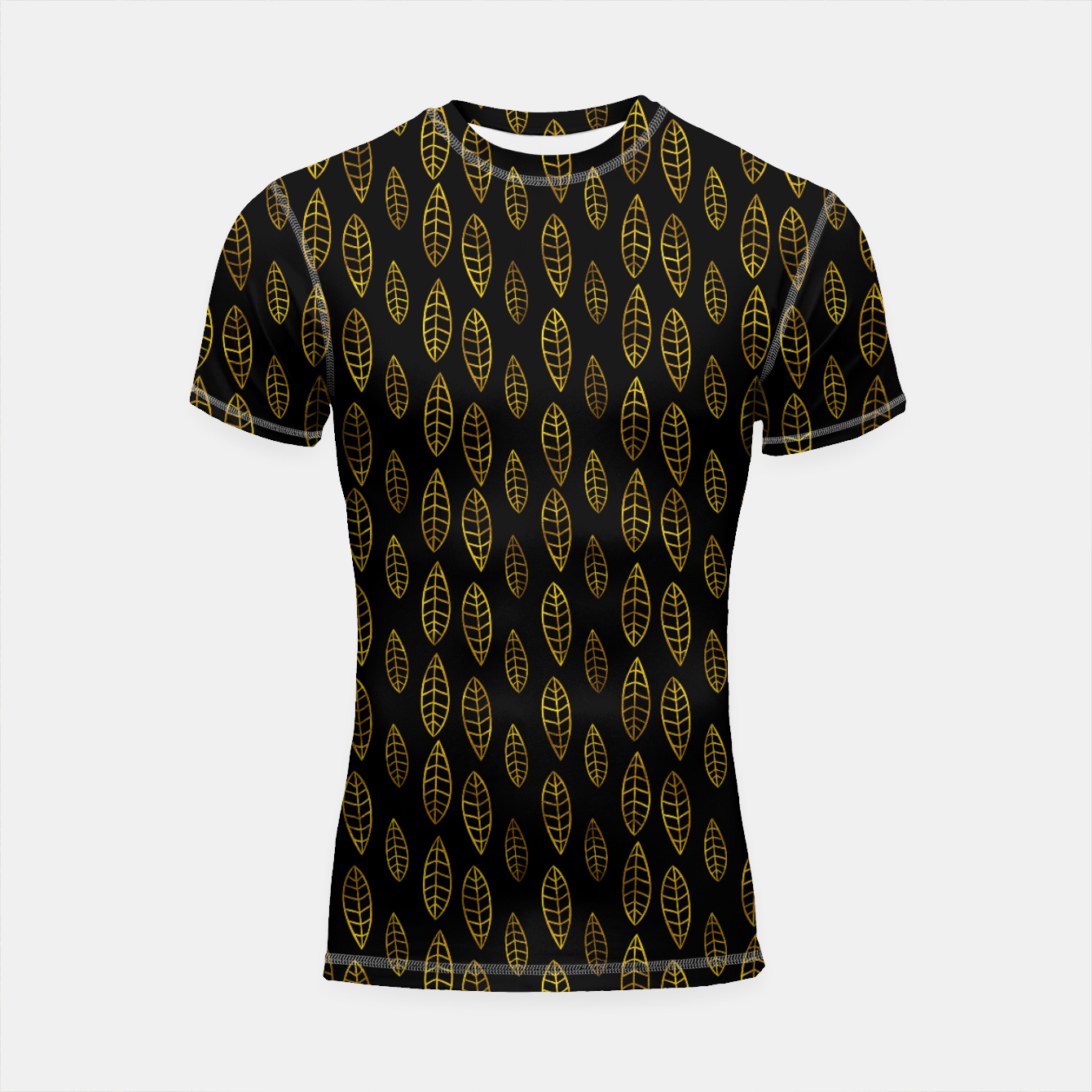 Foto Simple Gold Pattern - 03 Shortsleeve rashguard - Live Heroes