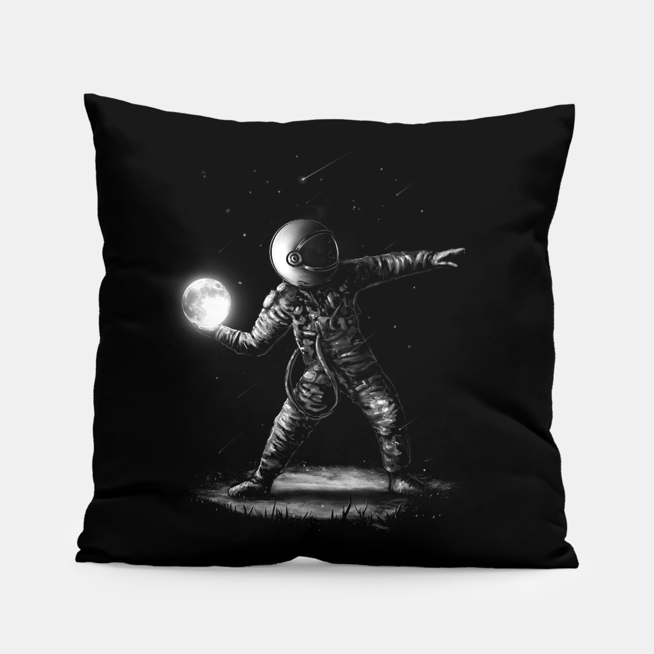 Image of Moonlotov Pillow - Live Heroes