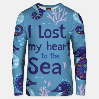 Thumbnail image of Lost Heart Unisex sweater, Live Heroes