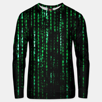 Thumbnail image of The Matrix Code Unisex sweater, Live Heroes