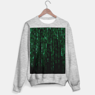 Thumbnail image of The Matrix Code Sweater regular, Live Heroes
