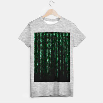 Thumbnail image of The Matrix Code T-shirt regular, Live Heroes