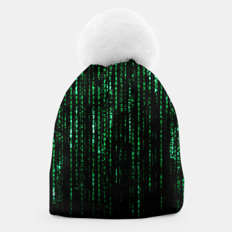 Miniatur The Matrix Code Beanie, Live Heroes