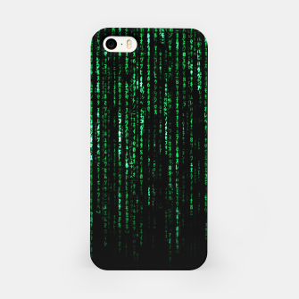 Miniatur The Matrix Code iPhone Case, Live Heroes