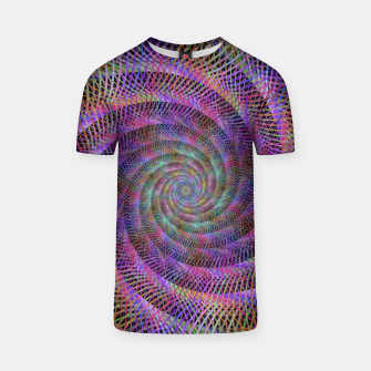 Thumbnail image of Spiral Fractal T-shirt, Live Heroes