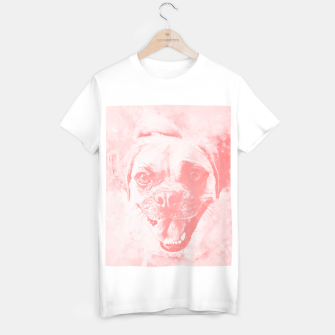 Thumbnail image of happy pug dog wspw T-shirt regular, Live Heroes