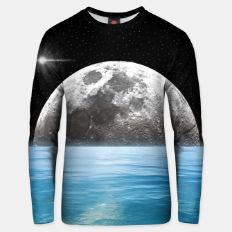 Thumbnail image of Moon Ocean Unisex sweater, Live Heroes