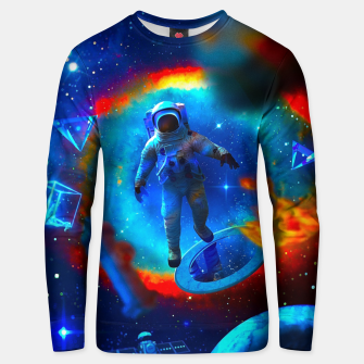 Thumbnail image of Lost Astronaut Unisex sweater, Live Heroes