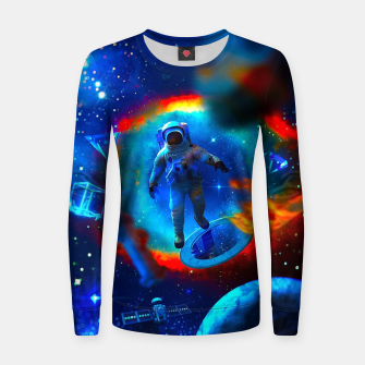 Thumbnail image of Lost Astronaut Women sweater, Live Heroes