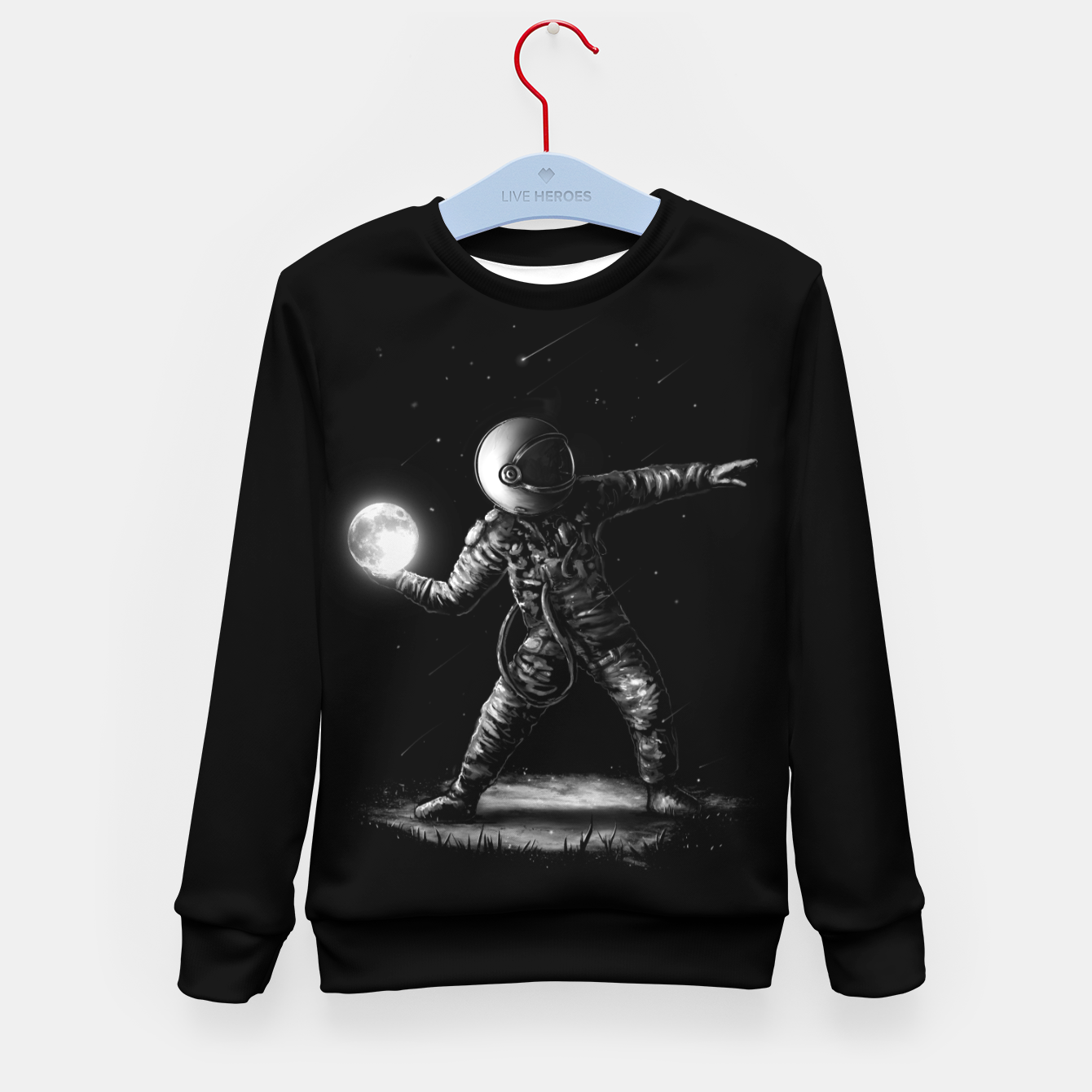 Image of Moonlotov Kid's sweater - Live Heroes