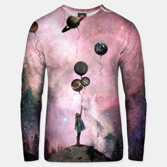 Thumbnail image of Planet Girl Unisex sweater, Live Heroes