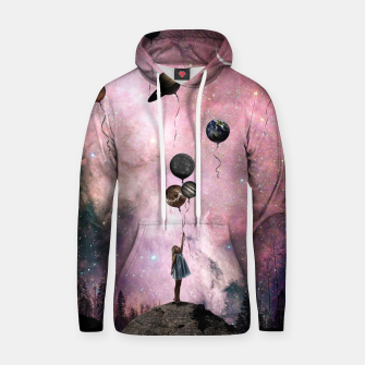 Thumbnail image of Planet Girl Hoodie, Live Heroes