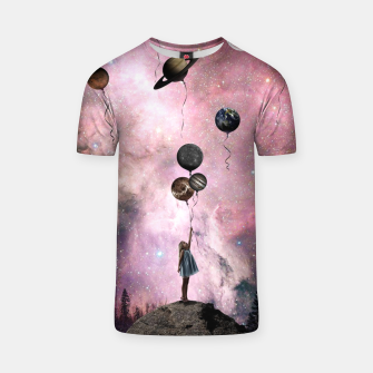 Thumbnail image of Planet Girl T-shirt, Live Heroes