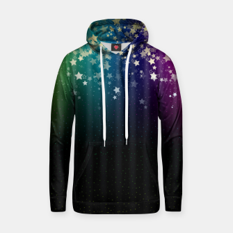 Thumbnail image of Colorful Space Rainbow Stars Hoodie, Live Heroes