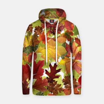 Thumbnail image of Autumn Fall Leaves Hoodie, Live Heroes
