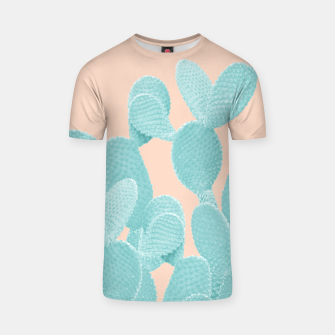 Thumbnail image of Summer Cactus #1 #succulent #decor #art T-Shirt, Live Heroes