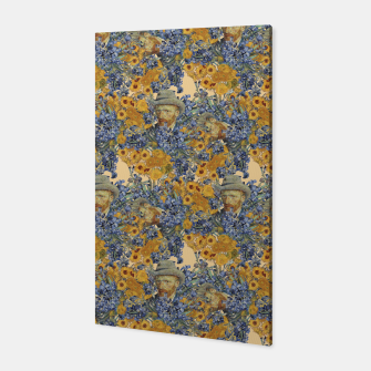 Thumbnail image of  Van Gogh and flowers Canvas, Live Heroes