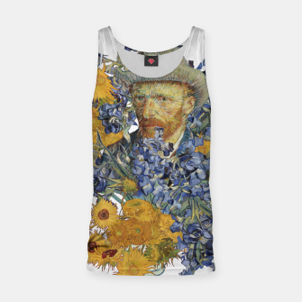 Thumbnail image of Van Gogh and flowers Tank Top, Live Heroes