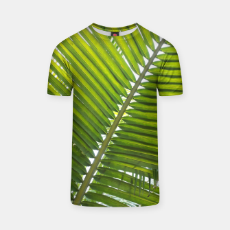 Thumbnail image of green leaves T-Shirt, Live Heroes