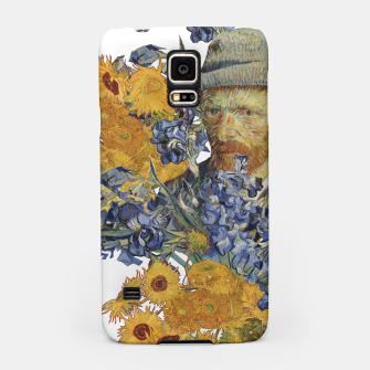 Thumbnail image of Van Gogh and flowers Samsung Case, Live Heroes
