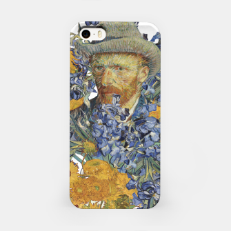 Thumbnail image of Van Gogh and flowers iPhone Case, Live Heroes