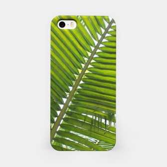 Thumbnail image of green leaves iPhone-Hülle, Live Heroes