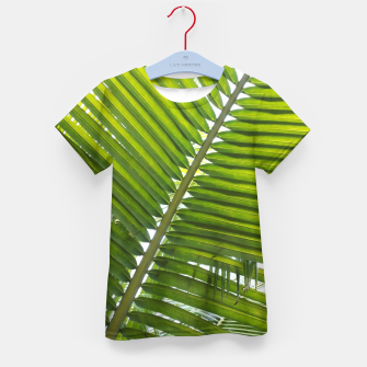 Thumbnail image of green leaves T-Shirt für kinder, Live Heroes