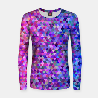 Thumbnail image of Triangles Women sweater, Live Heroes
