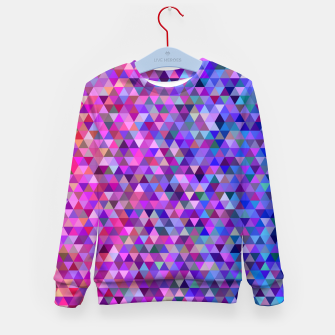 Miniatur Triangles Kid's sweater, Live Heroes