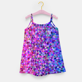 Miniatur Triangles Girl's dress, Live Heroes