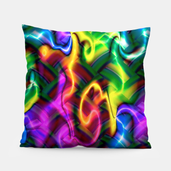 Thumbnail image of Laser Design Pillow, Live Heroes