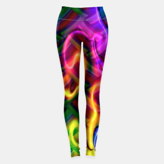 Thumbnail image of Laser Design Leggings, Live Heroes