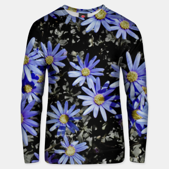 Thumbnail image of Daisies On Grey Unisex sweater, Live Heroes
