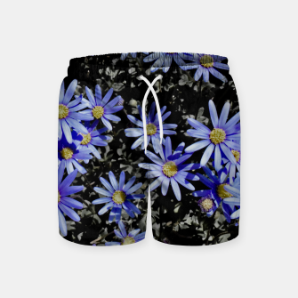 Thumbnail image of Daisies On Grey Swim Shorts, Live Heroes