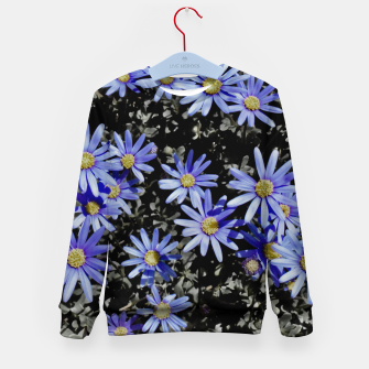 Thumbnail image of Daisies On Grey Kid's sweater, Live Heroes