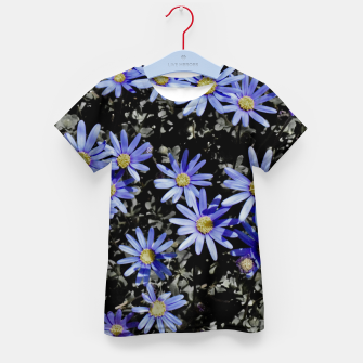 Thumbnail image of Daisies On Grey Kid's t-shirt, Live Heroes