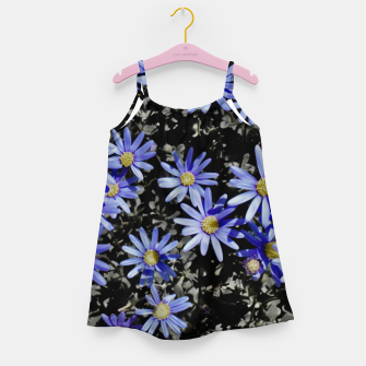 Thumbnail image of Daisies On Grey Girl's dress, Live Heroes