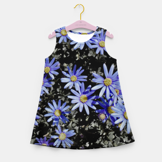 Thumbnail image of Daisies On Grey Girl's summer dress, Live Heroes