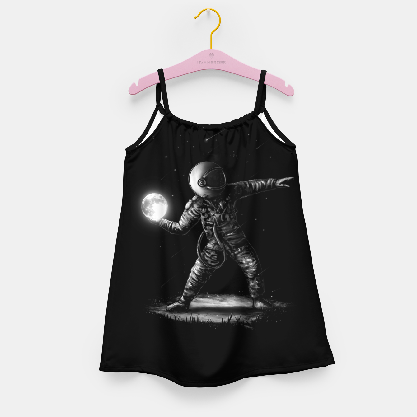 Image of Moonlotov Girl's dress - Live Heroes