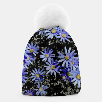 Thumbnail image of Daisies On Grey Beanie, Live Heroes