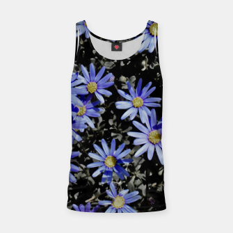 Thumbnail image of Daisies On Grey Tank Top, Live Heroes