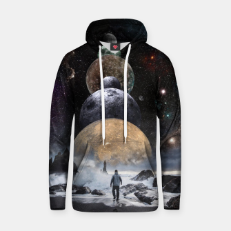 Thumbnail image of Walking to the Planets Hoodie, Live Heroes
