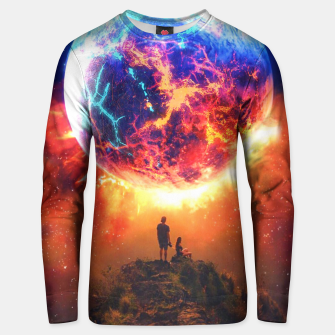 Thumbnail image of Lava Planet Unisex sweater, Live Heroes
